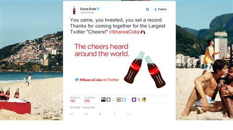 coca cola emoji hits twitter marketing effort marketwatch