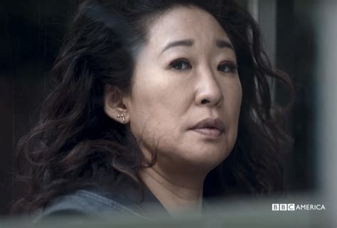sandra oh on killing eve video killing eve teaser sandra oh bbc america