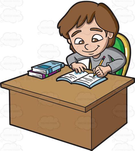 Doing Homework Clipart