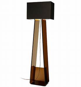 Pablo designs tube top floor lamp lampscom for Floor lamp with tube light
