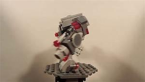 Lego Dc Comics Cyborg Big Mech Moc YouTube
