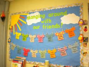 Preschool Welcome Bulletin Board Ideas