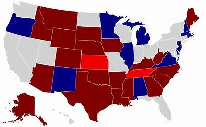 Senate Map States Election United Elections Senators