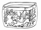 Colorear Paisajes Aquarium Coloring Coloriage Pecera Dibujos Imprimer Imprimir Dibujo Akwarium Acuario Peces Pond Colorir Fish Tank Peceras Dibujar Clipart sketch template