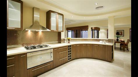 modern kitchen design ideas  wooden cabinets plan