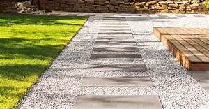 Einfahrt Mit Kies : gartenweg anlegen einfahrt pflastern obi gartenplaner ~ Lizthompson.info Haus und Dekorationen