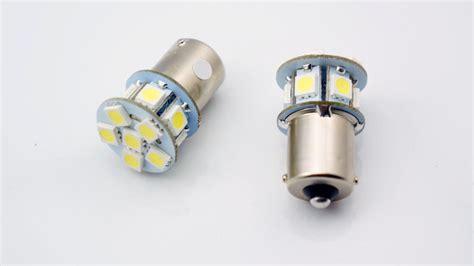 2x 6v 1156 Ba15s 12 Smd Led White Car Bulb Light Brake