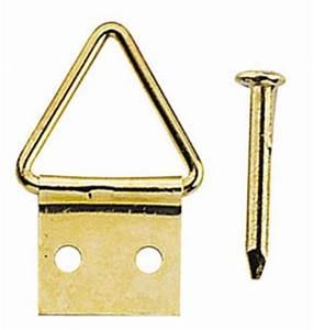 Serrurier Le Cannet : triangles accroche tableaux 10 mm acier laitonn avec ~ Premium-room.com Idées de Décoration