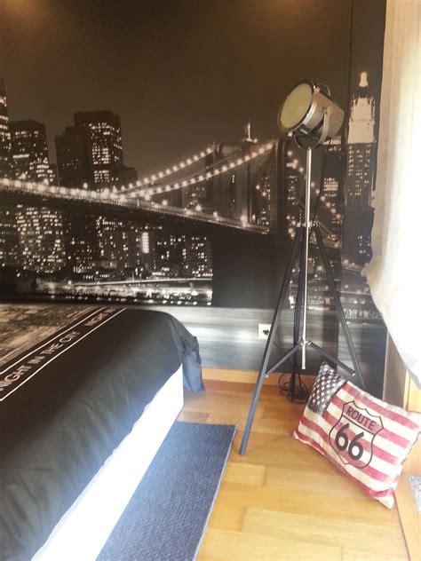 teenage sons bedroom decornew york theme teenage