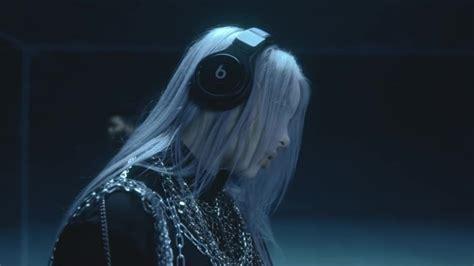 beats headphones worn  billie eilish  lovely ft