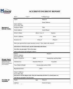 13  Sample Accident Incident Reports