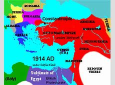Ottoman Empire after WW I