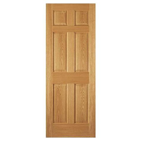 home depot 6 panel interior door steves sons 30 in x 80 in 6 panel unfinished oak