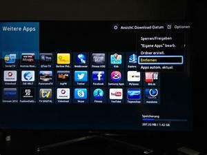 Günstige Smart Tv : samsung tv smart hub der f serie apps entfernen robins blog technik und multimedia ~ Orissabook.com Haus und Dekorationen