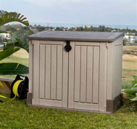 Horizontal Shed by Keter Store It Out Midi Outdoor Resin Horizontal Storage