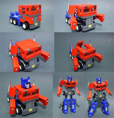 moc optimus prime g1 lego sci fi eurobricks forums