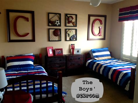 Sports Bedroom by Marci Coombs The Boys Sports Themed Bedroom