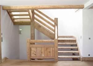 Garde Corps Escalier Interieur : garde corps et escalier en vieux bois deco pinterest ~ Dailycaller-alerts.com Idées de Décoration