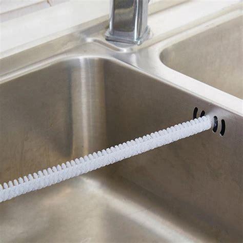 clean bathroom sink drain flexible sink overflow drain unblocker clean brush cleaner