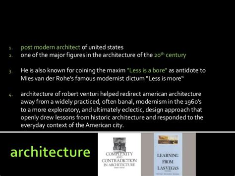 Robert Venturi Architect