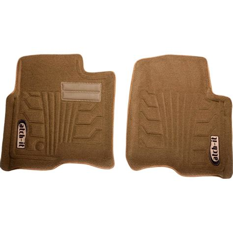 new nifty products floor mats front tan jeep wrangler jk