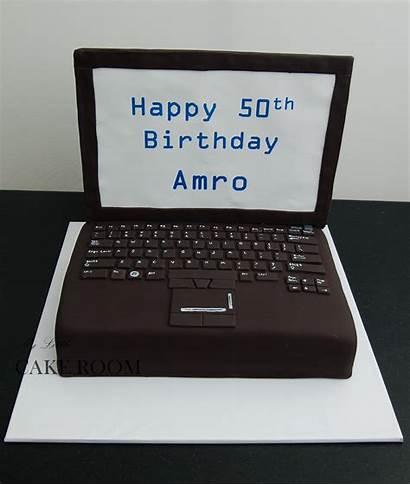 Cake Computer Cakes Laptop Birthday Decorating Laptops