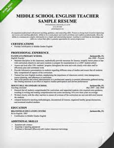 college student career objective english teacher cover letter template resume genius