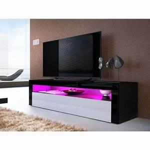 Meuble Tele Bas : meuble t l bas design dylan cbc meubles ~ Teatrodelosmanantiales.com Idées de Décoration