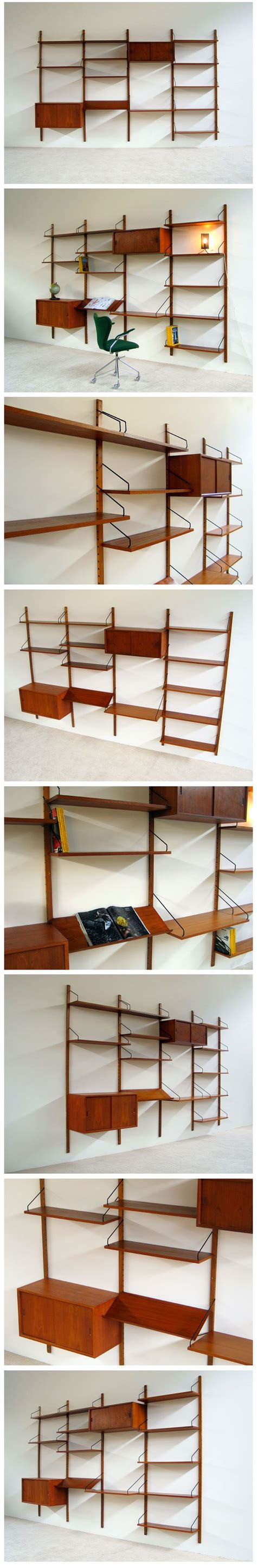 royal system wall unit by poul cadovius for royal system furniture picmia