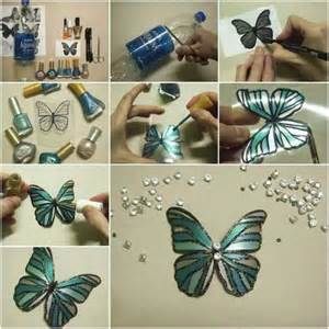 Incredibly cool diy crafts using nail polish projects for teens