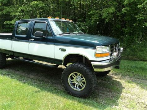 Buy Used 1996 Ford F350 Crew Cab Diesel 4x4 In New
