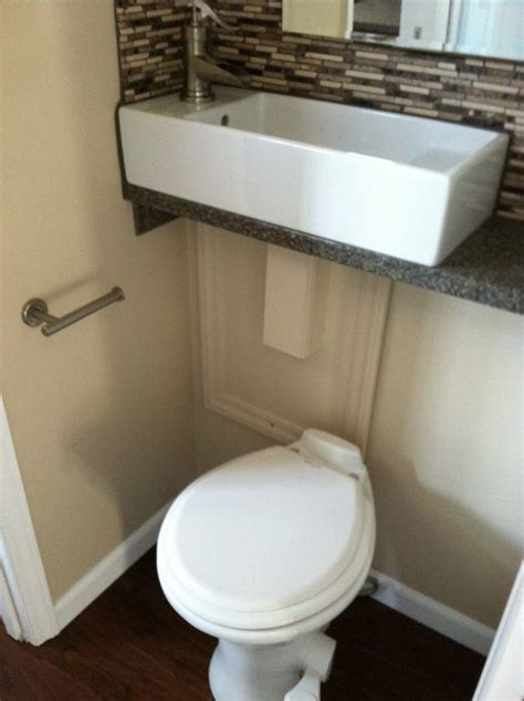 Small Bathroom Sink And Toilet by Best 20 Toilet Sink Ideas On Toilet With Sink