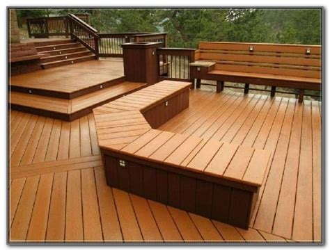 built in deck bench seat plans decks home decorating