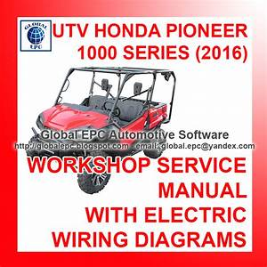 Automotive Repair Manuals  Utv Honda Pioneer 1000 Series