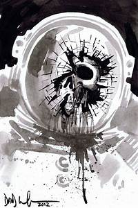 Astronaut Death mini sketch