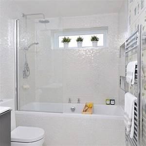 Iridescent bathroom tiles small bathroom ideas for Small bathroom ideas photo gallery