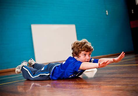 Kids Superman Exercise