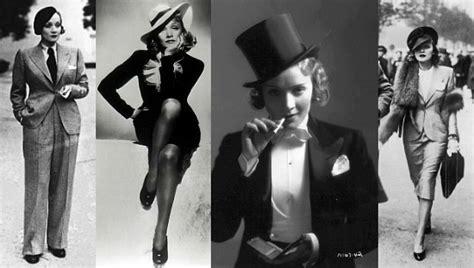 Style Icon: Marlene Dietrich Style   Silhouette Trend