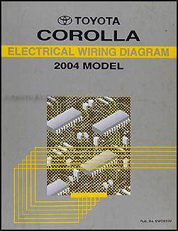 Wiring Diagram 2004 Toyotum Carolla Ce by 2004 Toyota Corolla Wiring Diagram Manual Original