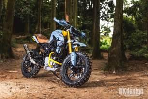 bmw bike bmw g310r scrambler by dkdesign bikebound