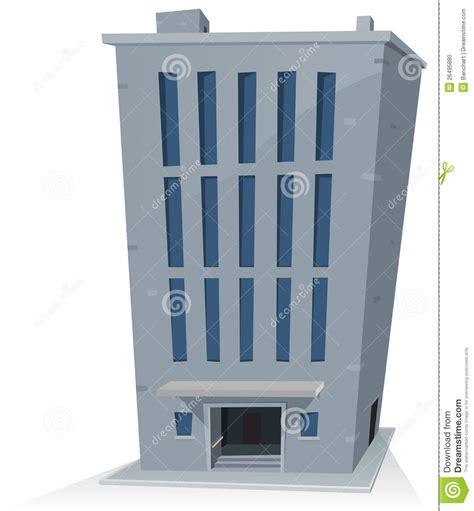 immeuble de bureaux immeuble de bureaux de dessin animé photo stock image