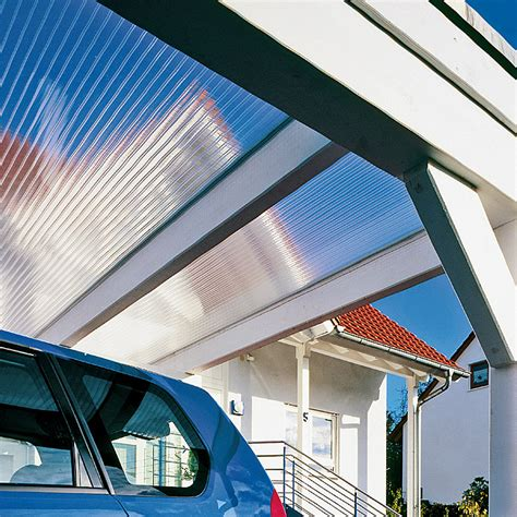 polycarbonat stegplatten 6 mm hohlkammerplatte makrolon 200 cm x 105 cm x 6 mm polycarbonat transparent 5677