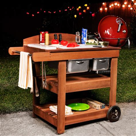 outdoor prep table plans grill cart plans how to make a grill cart