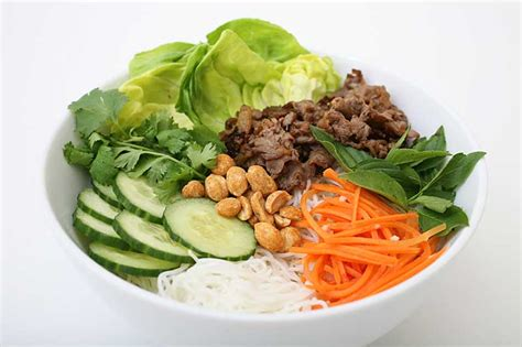 cuisine vietnamienne recette bobun bún bò bun bo bo bun au boeuf recettes asiatiques restaurants asiatiques