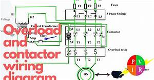 Reversing Contactor Wiring Diagram Single Phase