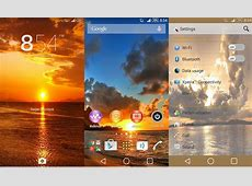 Check out Xperia Sunset Theme 2 set of themes