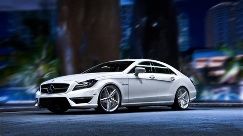 Vorsteiner Mercedes Benz Cls Mystic Black Wallpaper