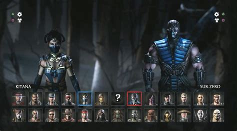 Mortal Kombat All Characters Unfortunately The Roster Has Been Confirmed What