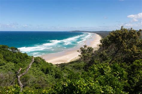 Tallow Beach And Arakwal National Park View From Cape ...