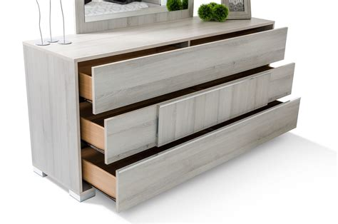 Modern Bedroom Dressers by Modrest Ethan Italian Modern Grey Dresser Dressers Bedroom